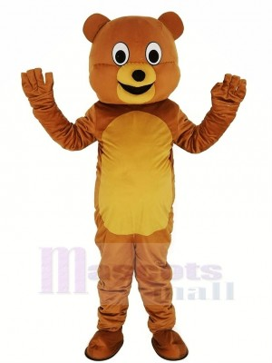 Neu Honig Bär Maskottchen Kostüm Tier