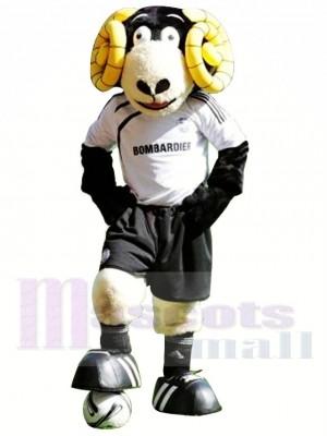 Freundlicher Sport Ram Maskottchen Kostüm