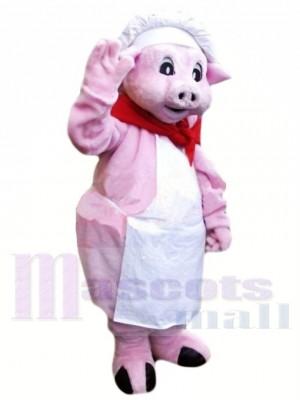 Koch Rosa Schwein Maskottchen Kostüme