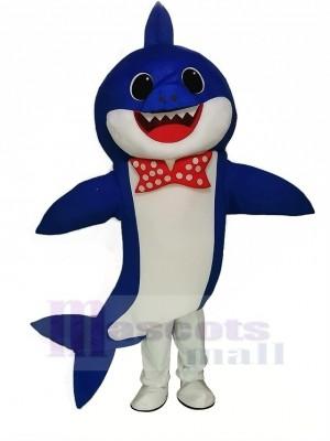 PinkFong Blau Baby Hai Maskottchen Kostüm Karikatur