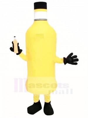 Orange Flasche Maskottchen Kostüm