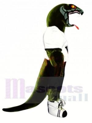 Sportliche Viper Maskottchen Kostüm
