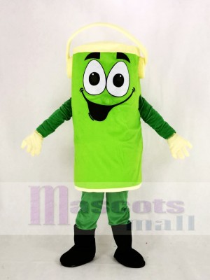 Grün Peter Farbe Können Maskottchen Kostüm Karikatur