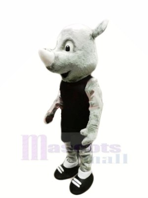 Beste Qualität Nashorn Maskottchen Kostüme Tier
