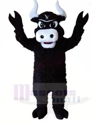 Stark Schwarz Stier Maskottchen Kostüme Tier