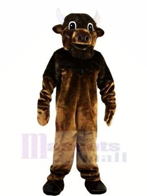 Stark Braun Stier Maskottchen Kostüme Tier