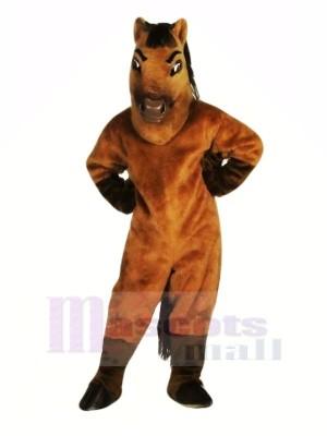 Braun Pferd Erwachsene Maskottchen Kostüme Tier