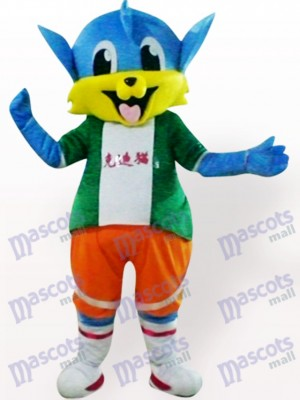Dick Katze Tier Maskottchen Kostüm