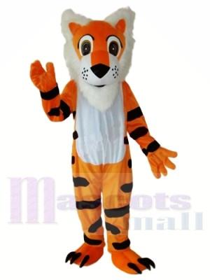 Langer Bart Tiger Maskottchen Kostüm versandkostenfrei