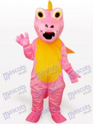 Rosa Dinosaurier Tier Maskottchen Lustiges Kostüm
