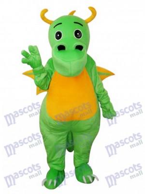 Big Nose Green Dinosaurier Maskottchen Erwachsene Kostüm Tier
