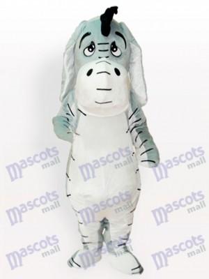 Grey Donkey Maskottchen Kostüm für Erwachsene