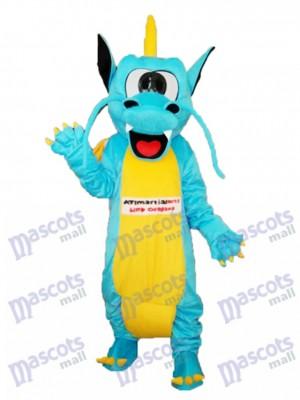 Gezackte Zähne Drachen Maskottchen Erwachsene Kostüm Tier