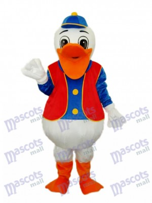Hippie Duck Maskottchen Erwachsene Kostüm Tier