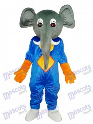Elefant Maskottchen Erwachsene Kostüm Tier
