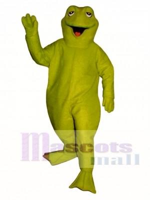 Schläfrig Frosch Maskottchen Kostüm