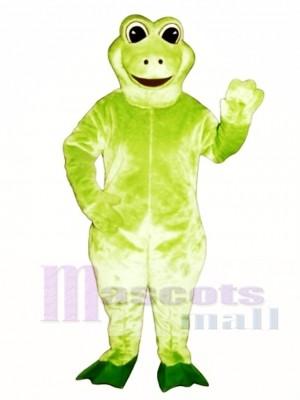 Fred Frosch Maskottchen Kostüm