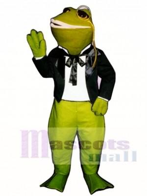 Umwerben Frosch Maskottchen Kostüm
