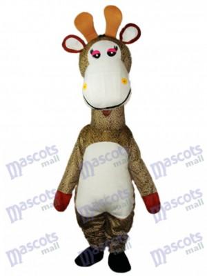 Giraffe Maskottchen Erwachsene Kostüm Tier