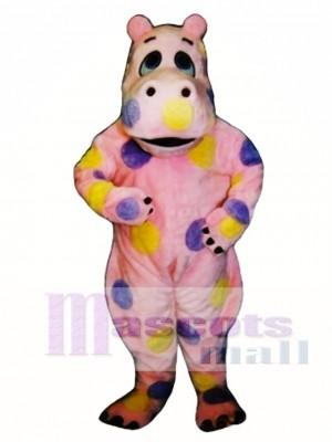 Tupfen Nilpferd Maskottchen Kostüm