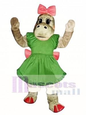 Patty Potamus Nilpferd Maskottchen Kostüm