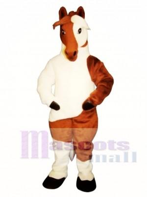 Niedlich Alt Farbe Pferd Maskottchen Kostüm