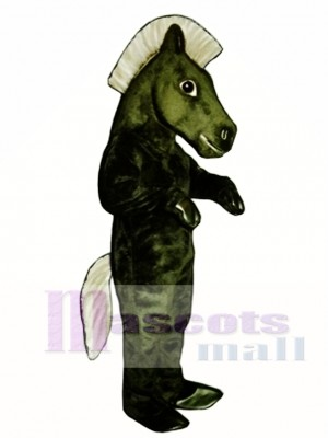 Mustang Pferd Maskottchen Kostüm