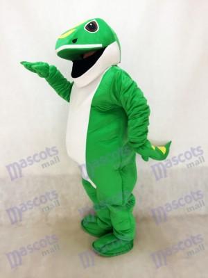 Grünes Gecko Maskottchen Kostüm