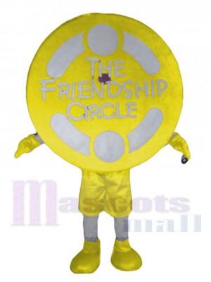 Freundschaftskreis maskottchen kostüm