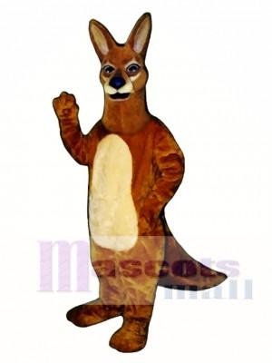 Realistisch Känguru Maskottchen Kostüm