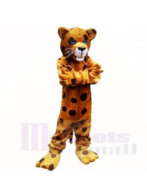 Stark Beschmutzt Leopard Maskottchen Kostüme Erwachsene