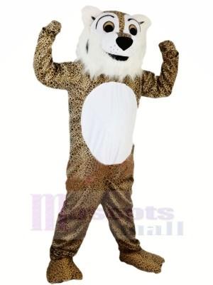 Stark Heftig Leopard Maskottchen Kostüme Tier