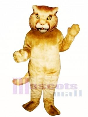 Golden Panther Maskottchen Kostüm Tier
