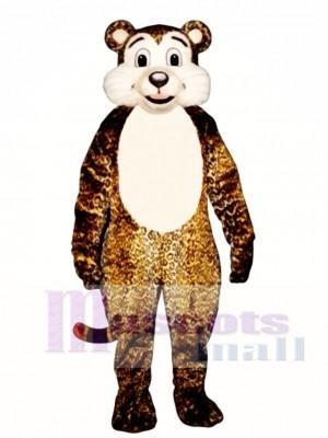 Baby Leopard Maskottchen Kostüm Tier