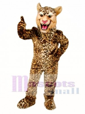 Leopard / Gepard / Jaguar Maskottchen Kostüm Tier