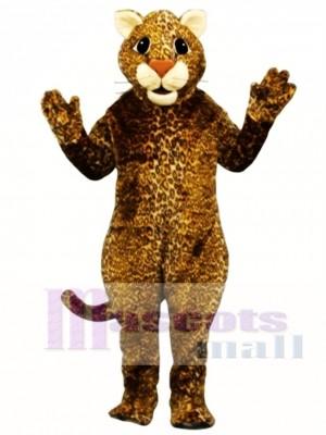 Springen Leopard Maskottchen Kostüm Tier
