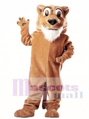 Colby Cougar Maskottchen Kostüm