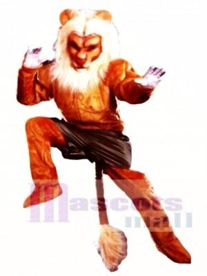 Profi Löwe Maskottchen Kostüm