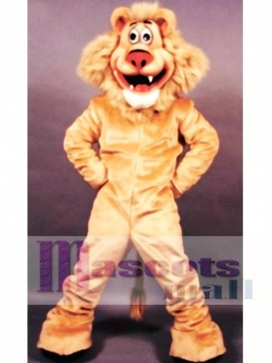 Lionel Löwe Maskottchen Kostüm