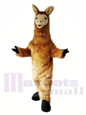 Lama Maskottchen Kostüm Tier Schaf Kostüm Kostüm