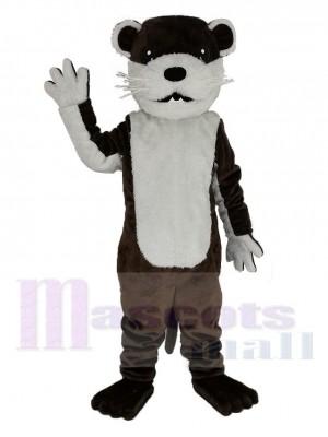 Braun Otter Maskottchen Kostüm Tier
