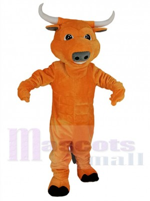 Stier maskottchen kostüm
