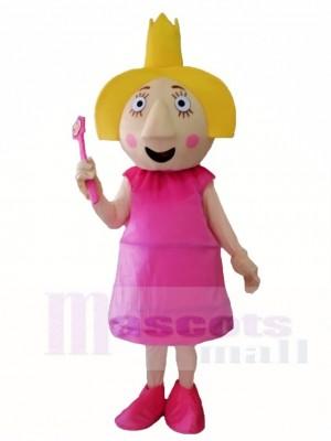 Holly & Distel Pink Fairy Maskottchen Kostüme von Ben & Holly