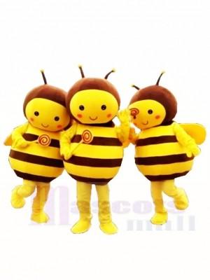 Nur eine schöne gelbe Biene Maskottchen Kostüme Insekt