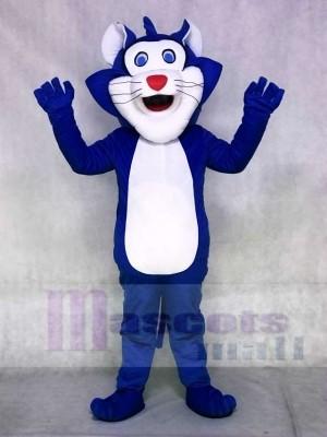 Blaue fette Katze Maskottchen Kostüme Tier