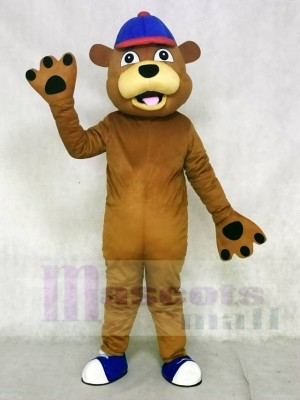 glücklich Braun Bär Maskottchen Kostüme Tier