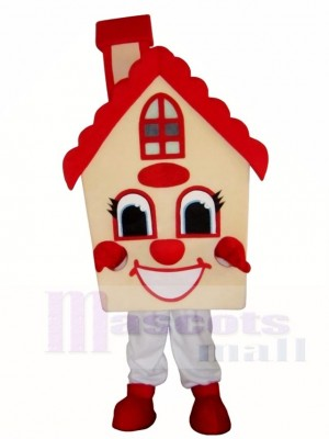 Maxwell Haus Maskottchen Kostüme Grundeigentum Beförderung