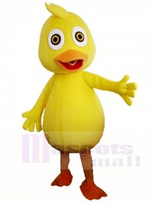 Gelbe Ente Maskottchen Kostüme Tier Geflügel