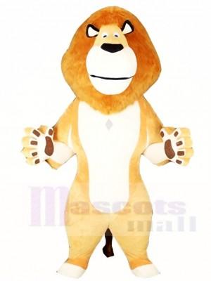 Weißer Bauch Löwe Maskottchen Kostüme Tier