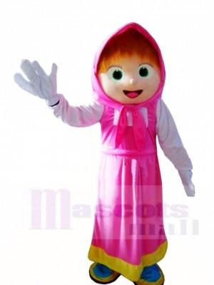 Riesen Mascha Mädchen Maskottchen Kostüme Menschen